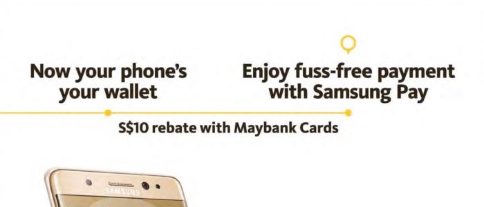 Maybank Samsung Pay $10 rebate